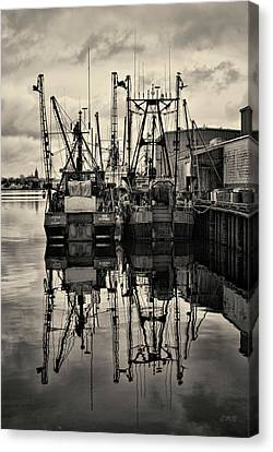 New Bedford Waterfront No. 1 Canvas Print by David Gordon