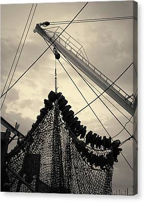 New Bedford Waterfront Xvii Toned Canvas Print