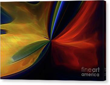 Canvas Print featuring the digital art New Birth by Margie Chapman