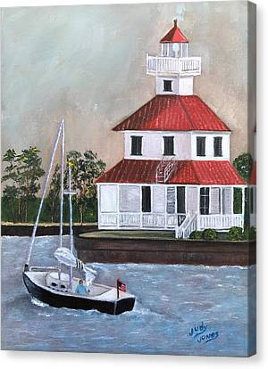 New Canal Lighthouse Canvas Print