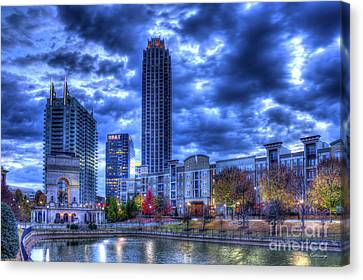 New Dawn Atlantic Station Millennium Gate Art Canvas Print