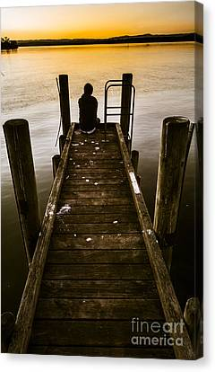 New Day A Piers Canvas Print