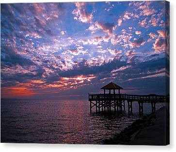 New Day Dawning Canvas Print by Brian Wright