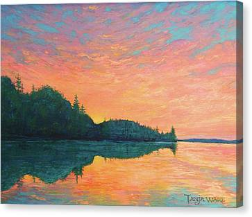 Canvas Print - New Day Dawning by Tanja Ware