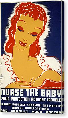 New Deal: Wpa Poster, 1936 Canvas Print by Granger