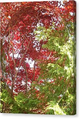New England Autumn Globe Canvas Print