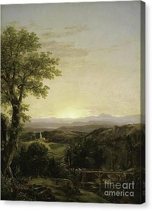 New England Scenery Canvas Print