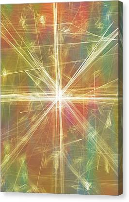 Cosmology Canvas Print - New Galaxy by Dan Sproul