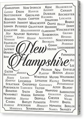New Hampshire Canvas Print by Finlay McNevin