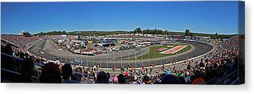 New Hampshire Motor Speedway Canvas Print by Juergen Roth