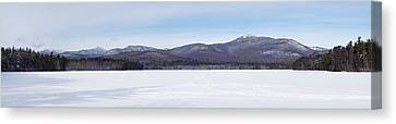 New Hampshire White Mountains Panorama Canvas Print