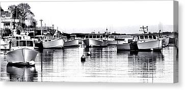 New Harbor Impression Canvas Print