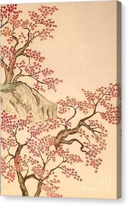 New Japanese Artistic Cloud Of Yokoyama Taikan Canvas Print by Sawako Utsumi