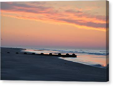 New Jersey Morning Canvas Print by Bill Cannon