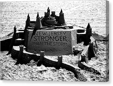 New Jersey Stronger Than Storm Canvas Print by John Rizzuto