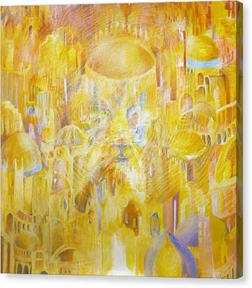 New Jerusalem Canvas Print by Beka Burns