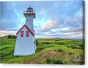 New London Light At Sunset Prince Edward Island Canvas Print