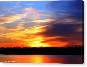 New Longview Sunset Canvas Print