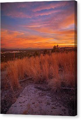 New Mexican Sunset Canvas Print