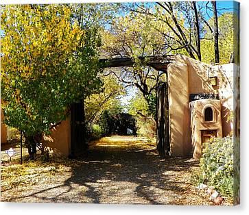 New Mexico Adobe Canvas Print