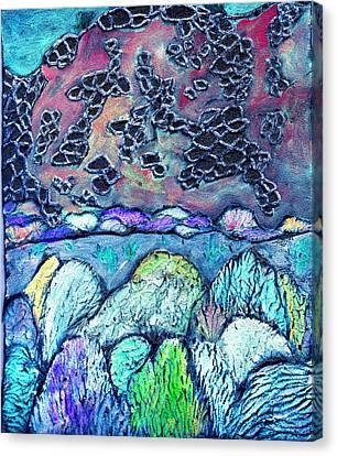 New Mexico Landscape Canvas Print by Wayne Potrafka