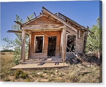 Condemn Canvas Print - New Mexico Real Estate by Jim Hughes