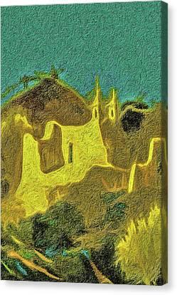 New Mexico Skyline Canvas Print