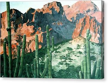 New Mexico Canvas Print by Terri Kilpatrick
