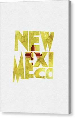 New Mexico State Flag Canvas Prints Fine Art America