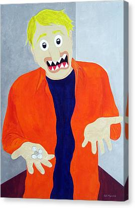 New Middle Class Canvas Print by Sal Marino