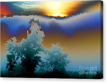 Canvas Print featuring the photograph New Morning Light by Jesse Ciazza