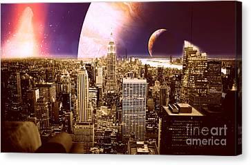 New New York Canvas Print by Johari Smith