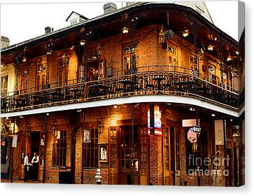 New Orleans And All That Jazz Canvas Print by Kim Fearheiley