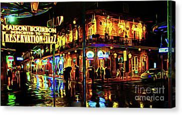 New Orleans Bourbon Street Canvas Print