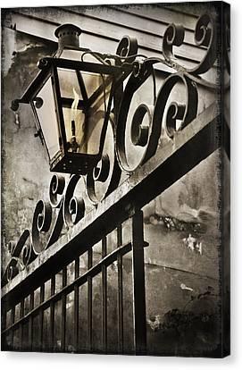 New Orleans Gaslight Canvas Print by Beth Riser