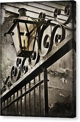 New Orleans Gaslight Canvas Print by Beth Riser