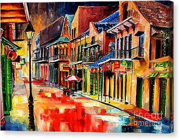 New Orleans Jive Canvas Print by Diane Millsap