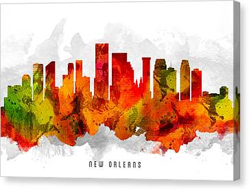 New Orleans Louisiana Cityscape 15 Canvas Print