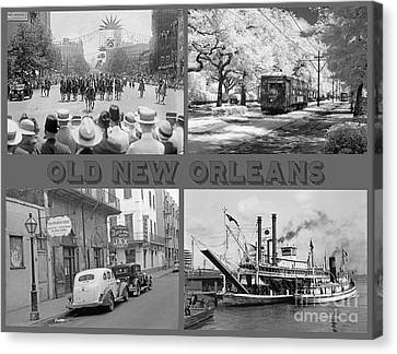 New Orleans Nostalgia Canvas Print by John Malone