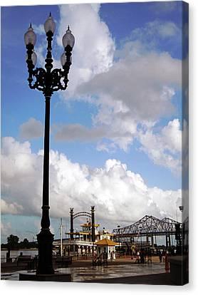 New Orleans Riverwalk Canvas Print