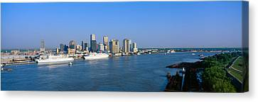 New Orleans Skyline, Sunrise, Louisiana Canvas Print by Panoramic Images