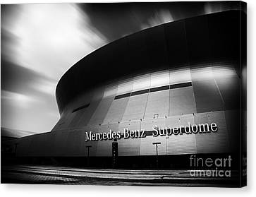 New Orleans Stadium Canvas Print by Alessandro Giorgi Art Photography