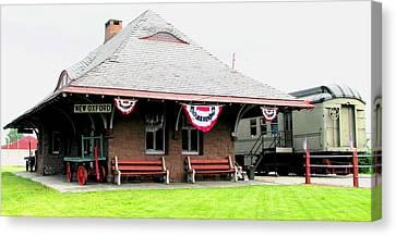 New Oxford Pennsylvania Train Station Canvas Print