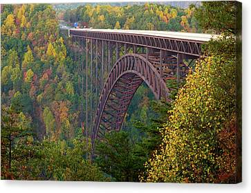 New River Gorge Bridge Canvas Print by Steve Stuller