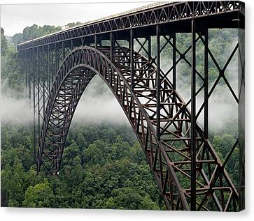 New River Gorge Bridge West Virginia Canvas Print