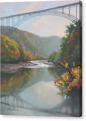 New River Gorge Canvas Print by Todd Baxter