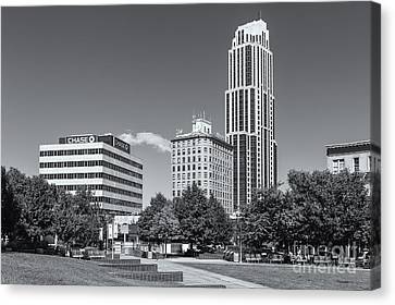 Library Canvas Print - New Rochelle Skyline II by Clarence Holmes