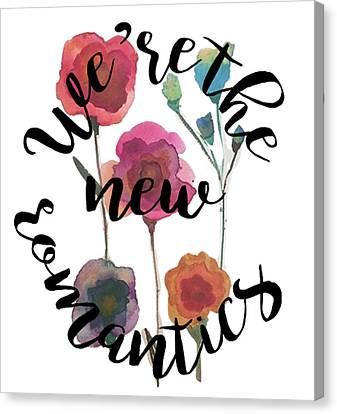 Taylor Swift Canvas Print - New Romantics by Patricia Abreu