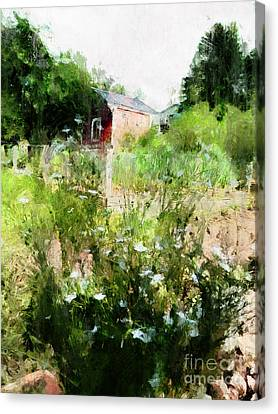 Canvas Print featuring the photograph New Roots by Claire Bull