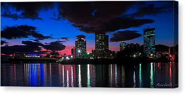 New Sky Line  Canvas Print by Marcus Gonzales